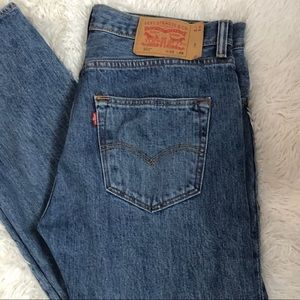 Levi's 501 Button Fly Jeans Size 32 X 29